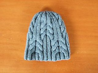 60f8e244b24 Ravelry  Utopia Cable Hat pattern by SmarieK. Ravelry  Utopia Cable Hat  pattern by SmarieK Knitting Patterns Free ...