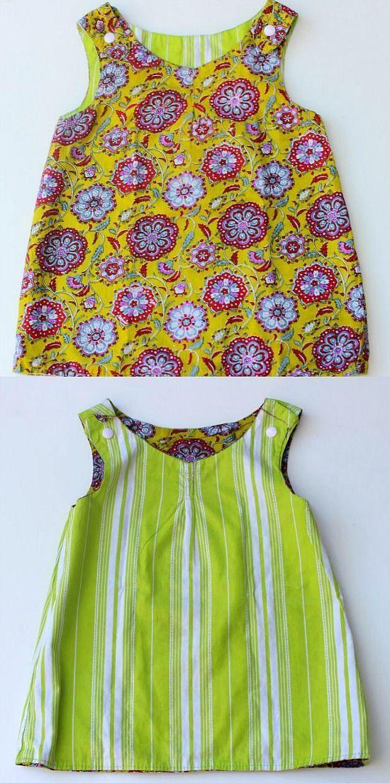 Reversible dress pattern