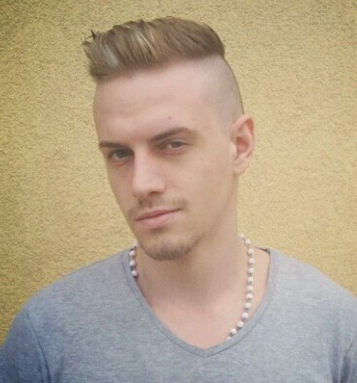 100 Cool Short Hairstyles And Haircuts For Boys And Men Short Hair Styles Shaved Sides Mens Hairstyles