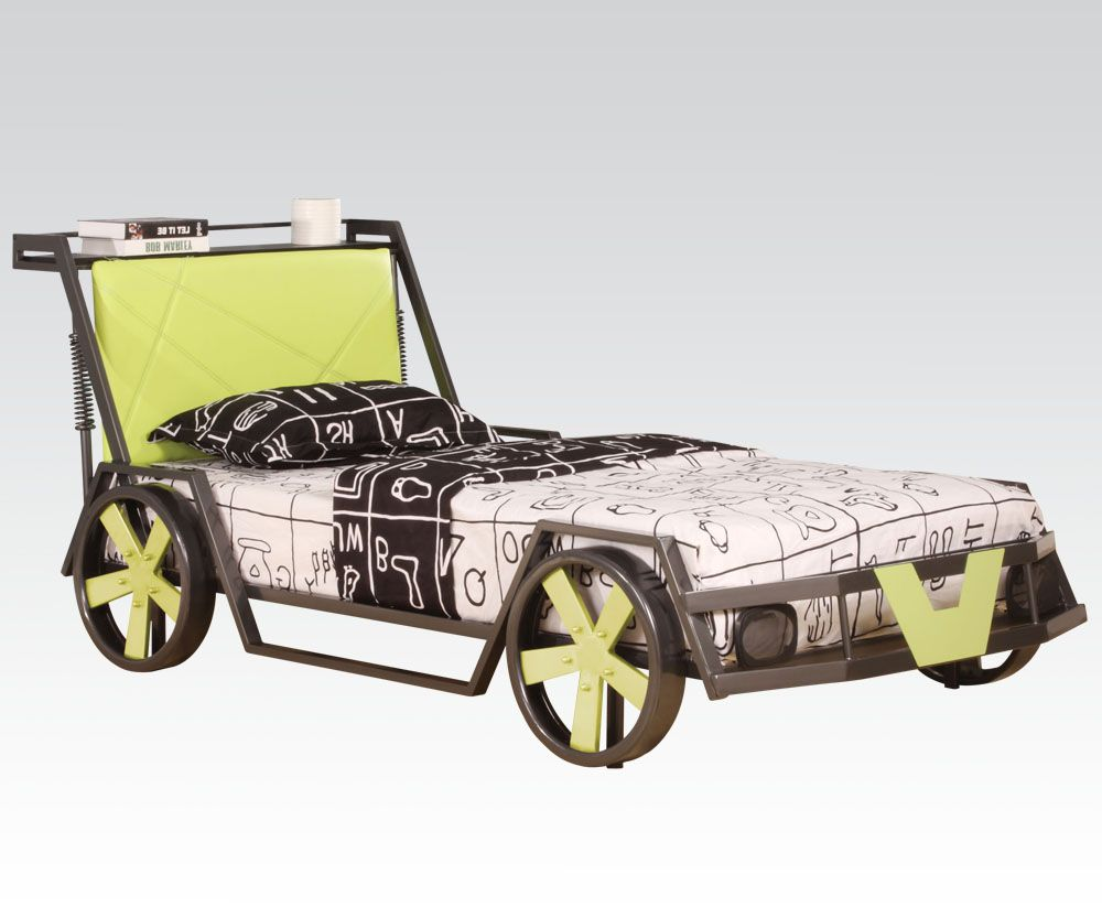 Acme furnitureus t spencer car bed matts not included