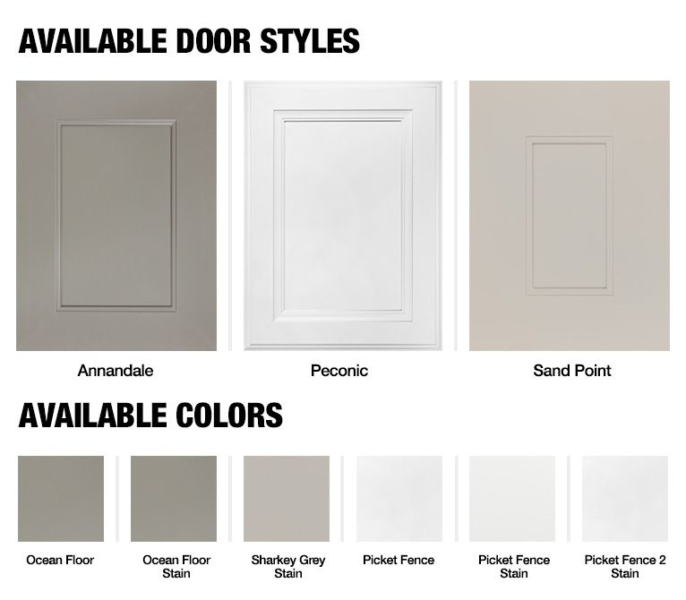 Martha Stewart Living Kitchen At The Home Depot Cabinet Refacing Styles U0026  Colors Available Maybe Better Than Painting?