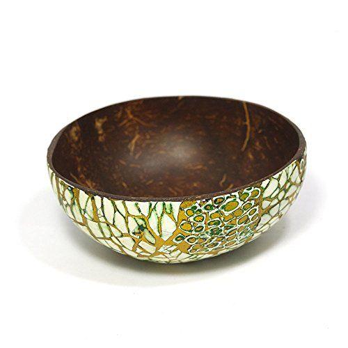 Coconut Bowl, Ring Bowl, Tree Planter, Eggshell Lacquer O... Https
