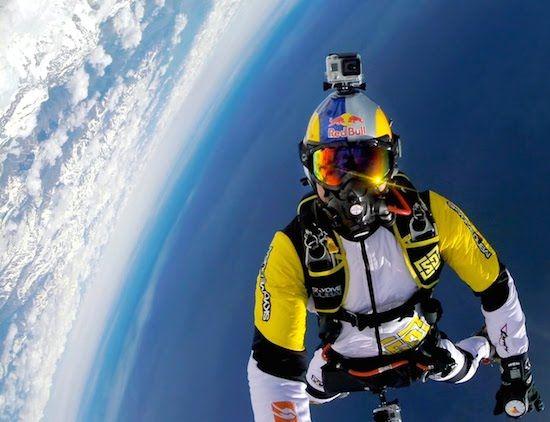 Oxygen Masks And Skydiving