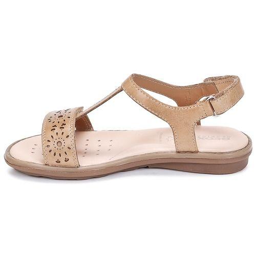 28faa9353af Zapatos Niña Sandalias Geox SAND.MILK C Camel