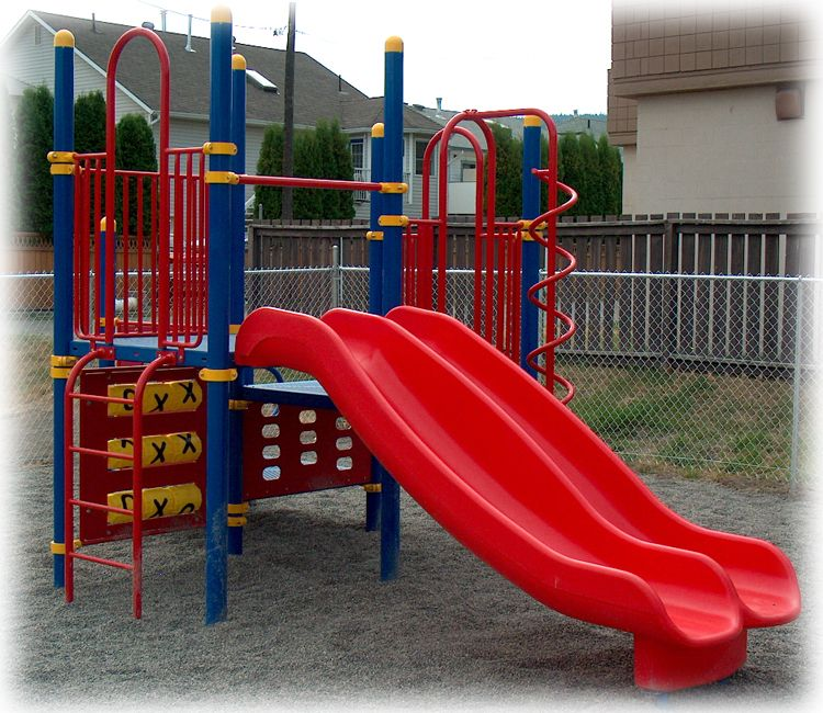 Church outdoor playground manufactured and installed by ...