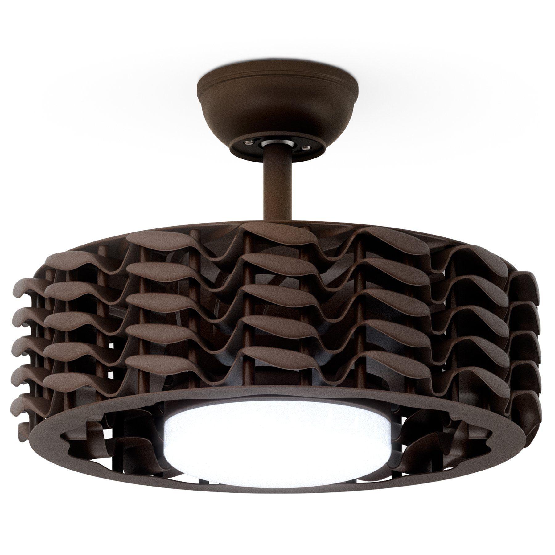 Oceano Bladeless Ceiling Fan, 6 Speeds with LED Light - 23 ...