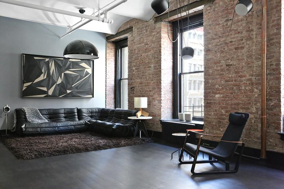 Industrial Apartment Designed By Union Studio, Situated In New York, United  States.