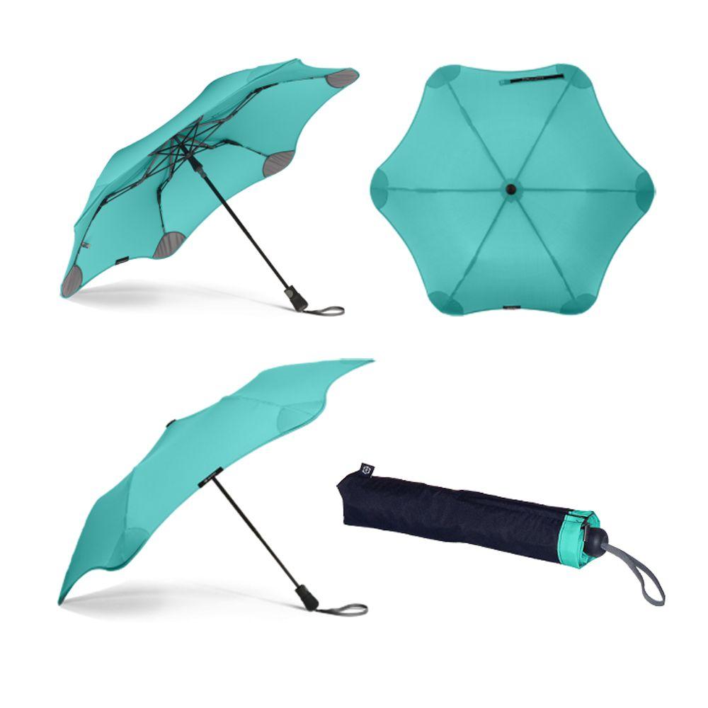 b66a5495ed71b2 Blunt XS Metro Folding Umbrella - Mint - Brolliesgalore | Men's ...