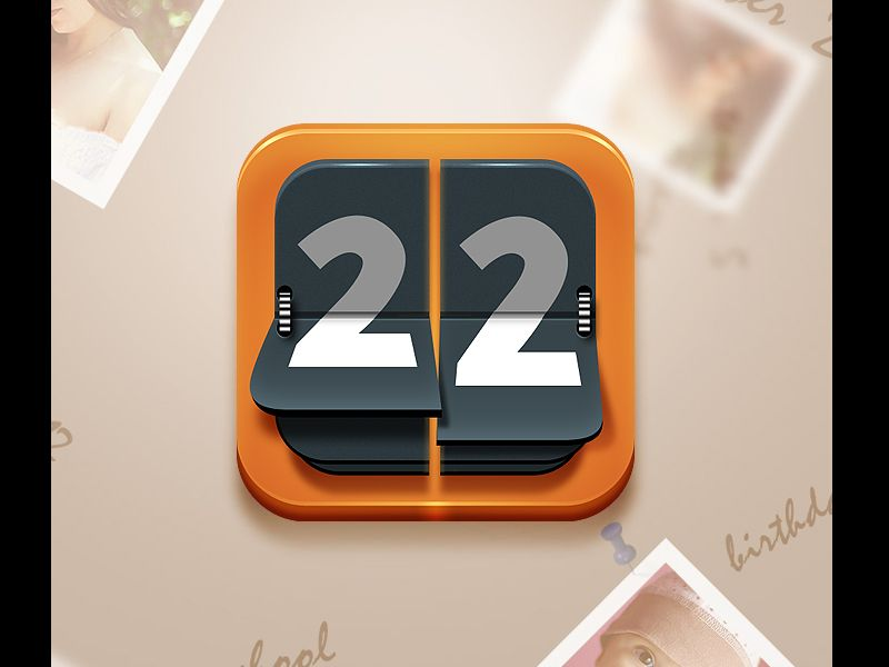 iPhon icon mobile UI