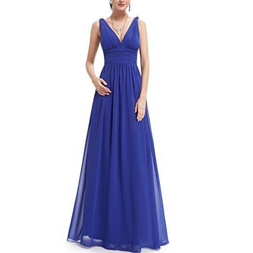 7b0334ef7699 KAXIDY Vestiti Estivi Donna Vestiti da Sera Eleganti Vestito da Sera Lungo Abiti  da Cocktail (