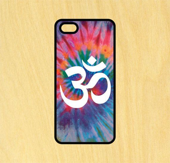 Om Symbol Tie Dye Phone Case Iphone 4 4s 5 5s 5c 6 6s 6