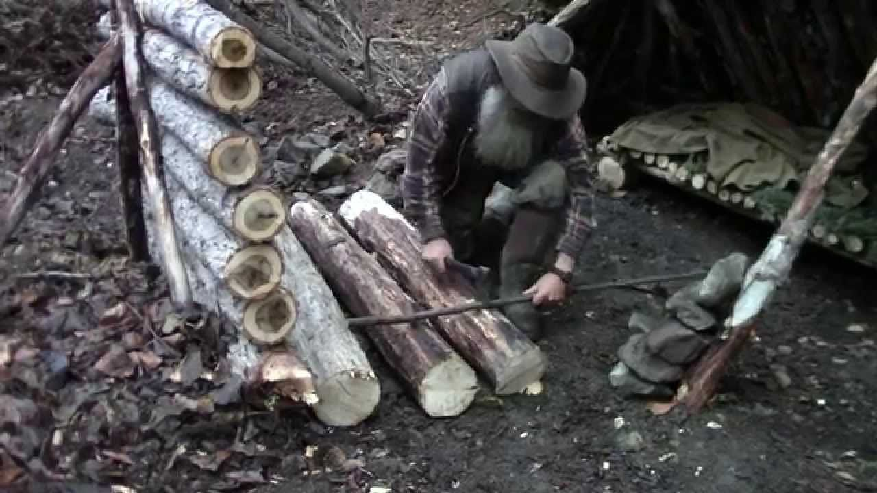 """This is a step by step """"how-to"""" showing how to build and use the """"Long Fire"""". The long fire is especially suited for heating a shelter. Intro song: *""""Tucson""""..."""