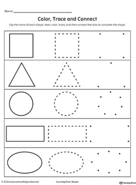 Crafts Classroom Students Image By Izzy Shapes Worksheets