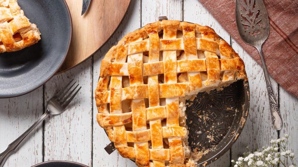 Grandma G S Apple Cinnamon Pie Paisley Farm Foods Recipe Cinnamon Apple Pie Cinnamon Pie Cinnamon Apples