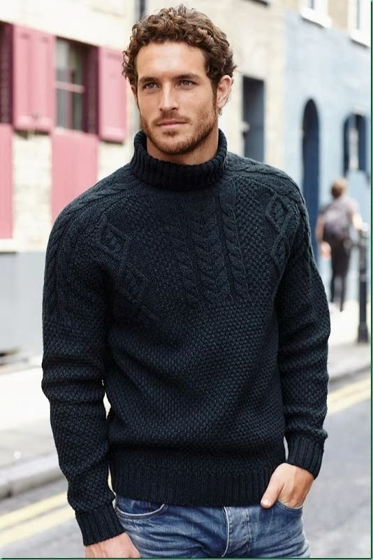 Modèles de pulls pour hommes tricotés à la main   – Örgü