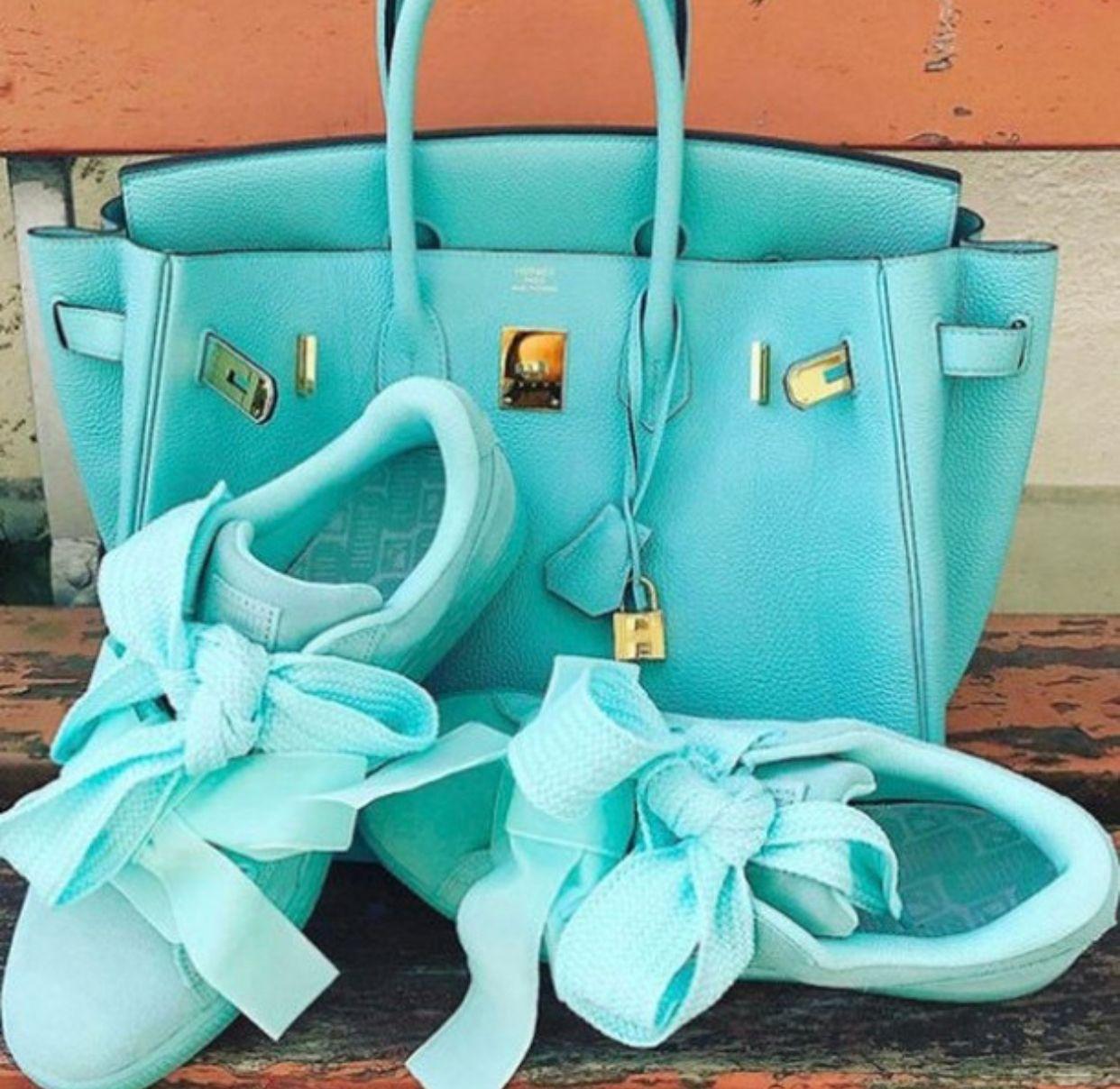 Tiffany Blue Hermes Birkin Bag And Puma Hermes Bag Birkin Hermes Birkin Birkin
