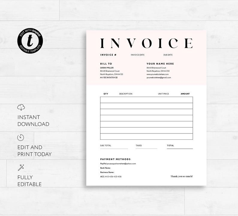 Pin On Order Forms
