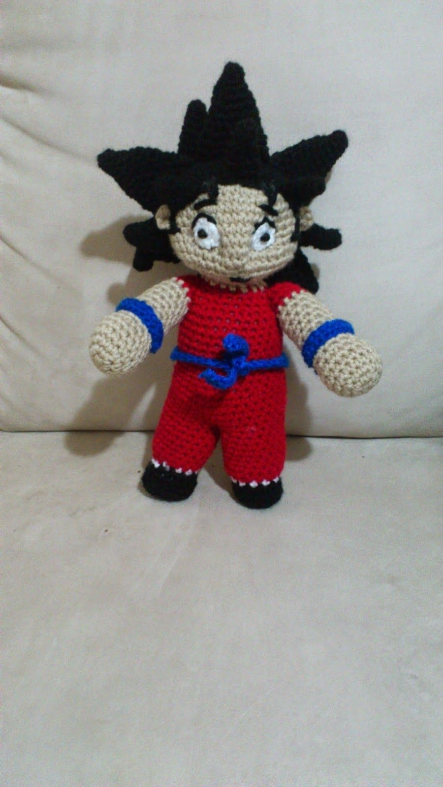 NEWS JENPOALI. Goku. FP 3/15 | Crochet I Like - TV, Movie or Video ...