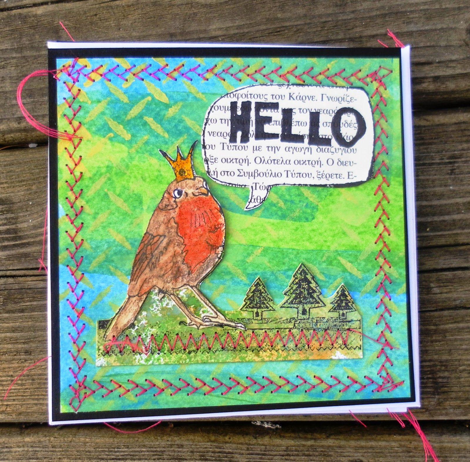 Mixed media flip-flop book using Americana Multi-Surface. #decoartprojects
