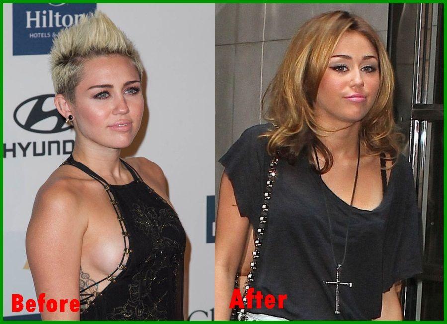 Miley cyrus vma boob