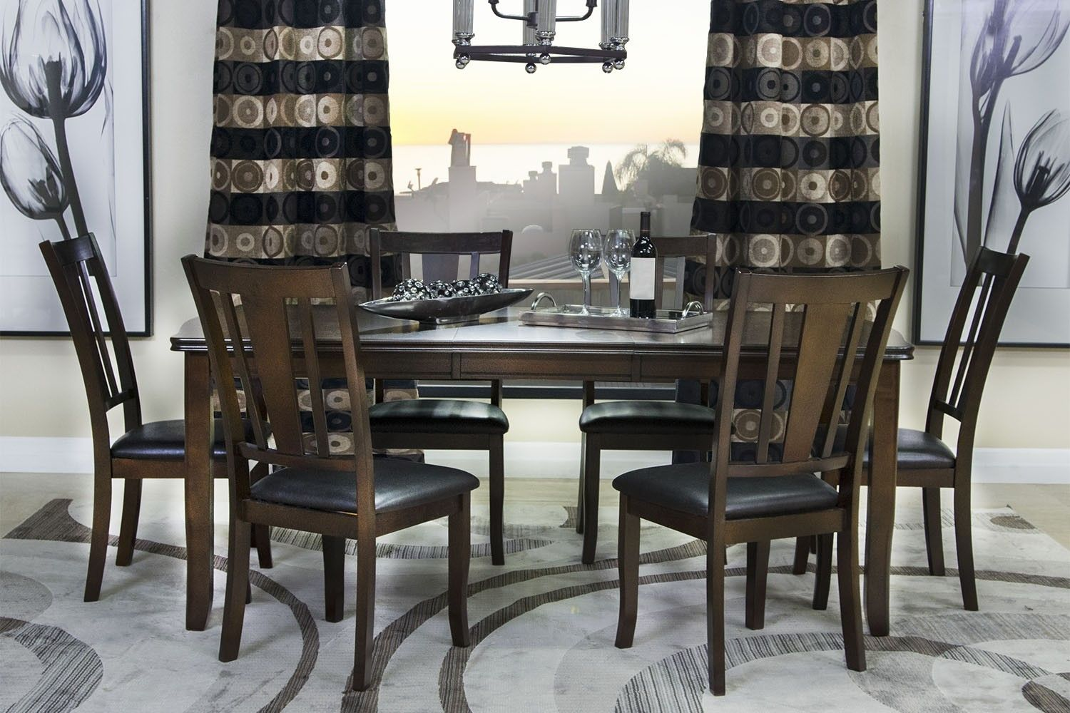 Mor Furniture For Less The Edgewood Dining Room
