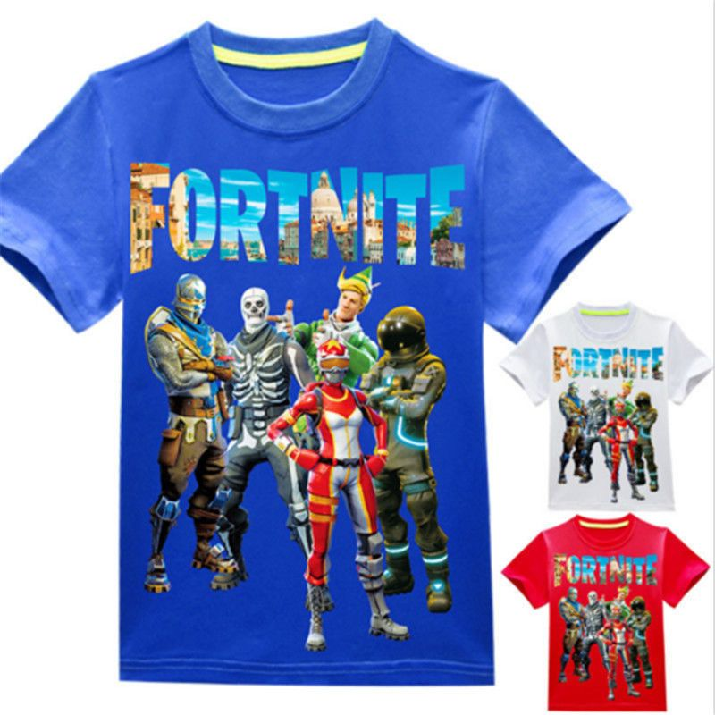 Kids Boys Girls Roblox T-Shirts Short Sleeve Cotton Tops Tee Shirts for 4-14 Yrs
