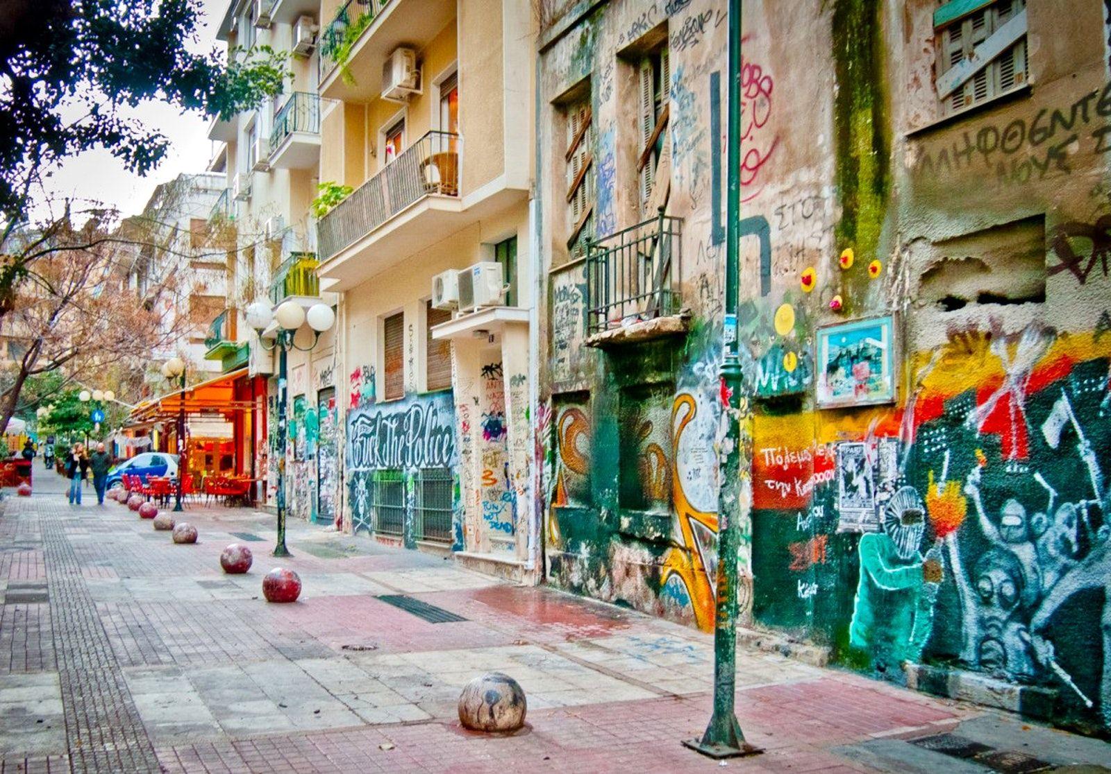 Αποτέλεσμα εικόνας για picture of exarchia