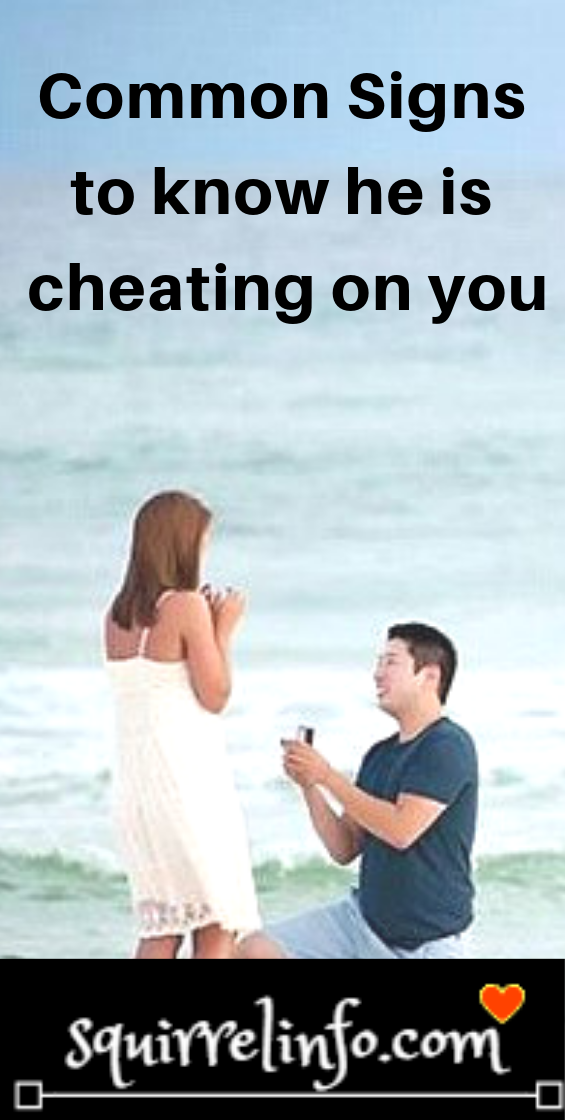 10 Signs He is cheating on you | Relationship psychology