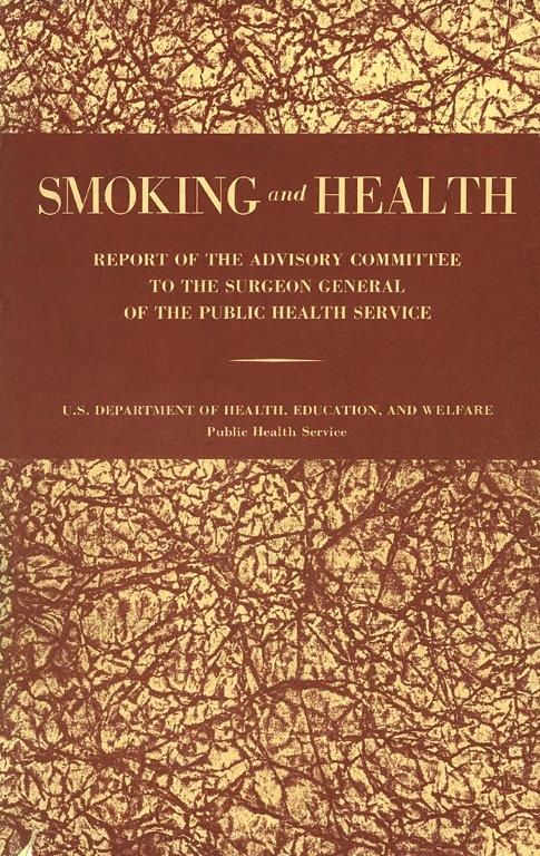 Pin on Surgeon General's Report on Smoking and Health