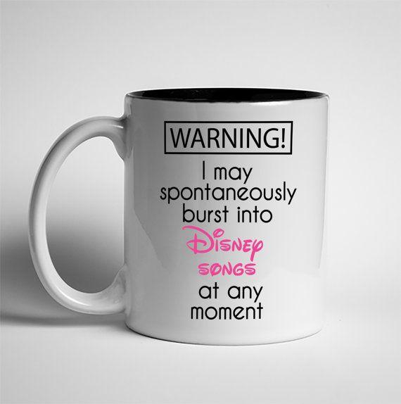 Coffee Mug Disney Mug Dishwasher Safe Mug Coffee Lover Disney Mugs Mugs Coffee Mugs