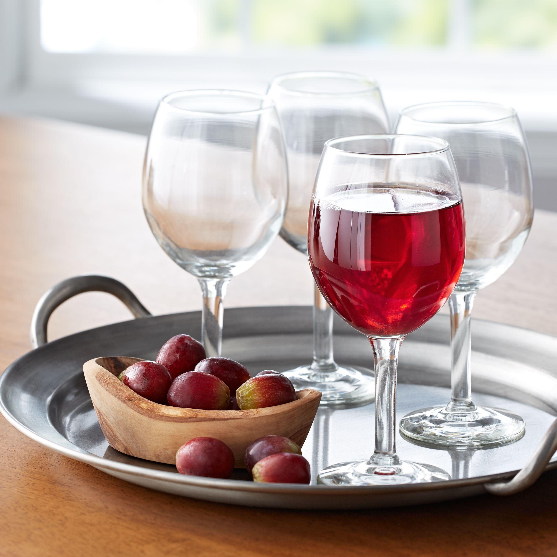 Mainstays All Purpose 11 Ounce Wine Glasses Set Of 12 Walmart Com In 2020 Wine Glasses Mainstays Types Of Wine Glasses