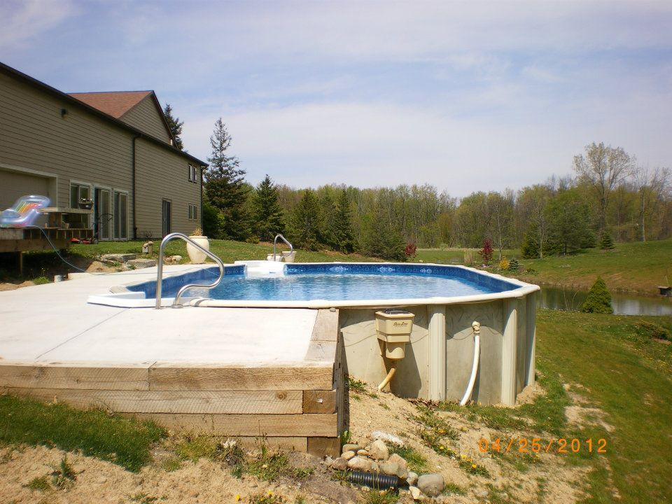 Doughboy Pools Photo Gallery | Pool in 2019 | Doughboy pool ...