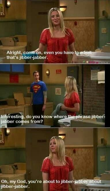 Where did jibber jabber come from