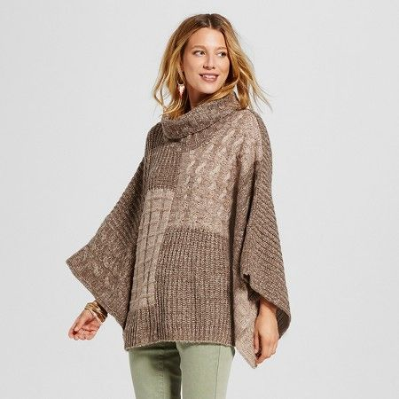 Women's Patchwork Cowl Neck Sweater - Knox Rose™ : Target | My ...