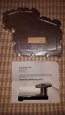 2007 Suzuki Hayabusa Koenig Engineering Billet Oil Pan