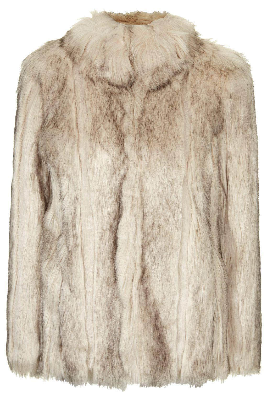 Manteau épais en fourrure synthétique | Coats, Shops and Topshop