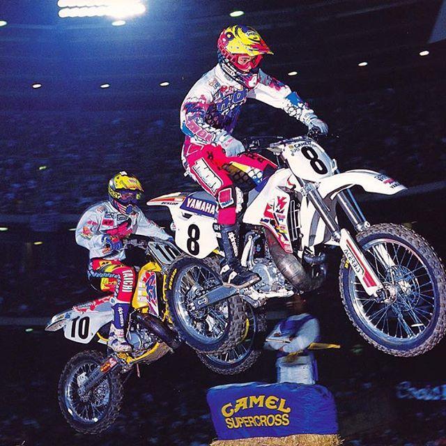 Jeff Emig (8 ) Larry Ward (10) 1992 | Supercross, Vintage ...