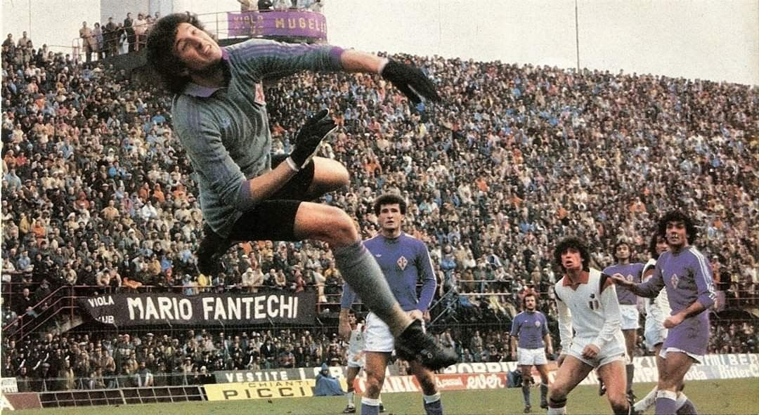 1979-1980 Fiorentina-Milan 1-1: Giovanni Galli con uno ...