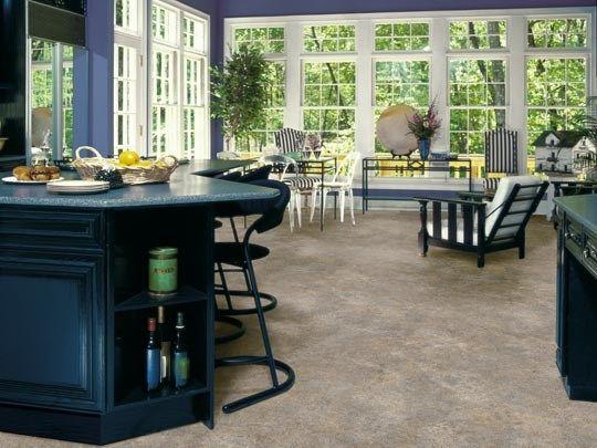 Tarkett Fiberfloor Easy Living Miami Sand   Kitchen Inspiration
