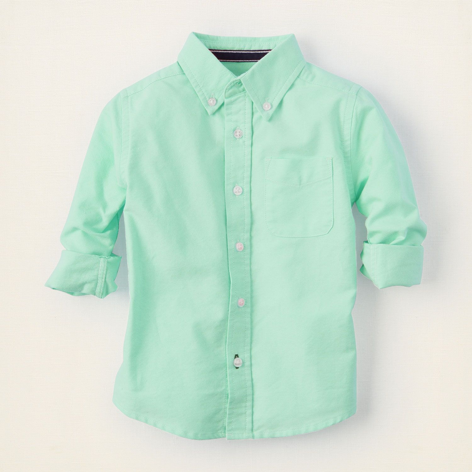 baby boy long sleeve tops oxford shirt