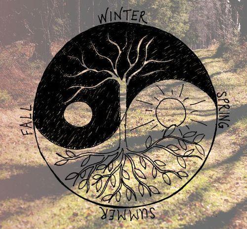 Sun and Moon Drawing Tumblr   love winter art tree summer hippie ...