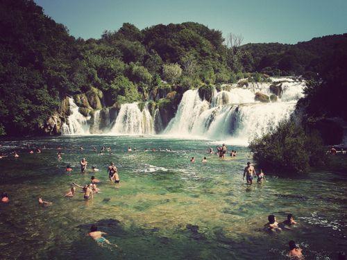 Swiming in rivers