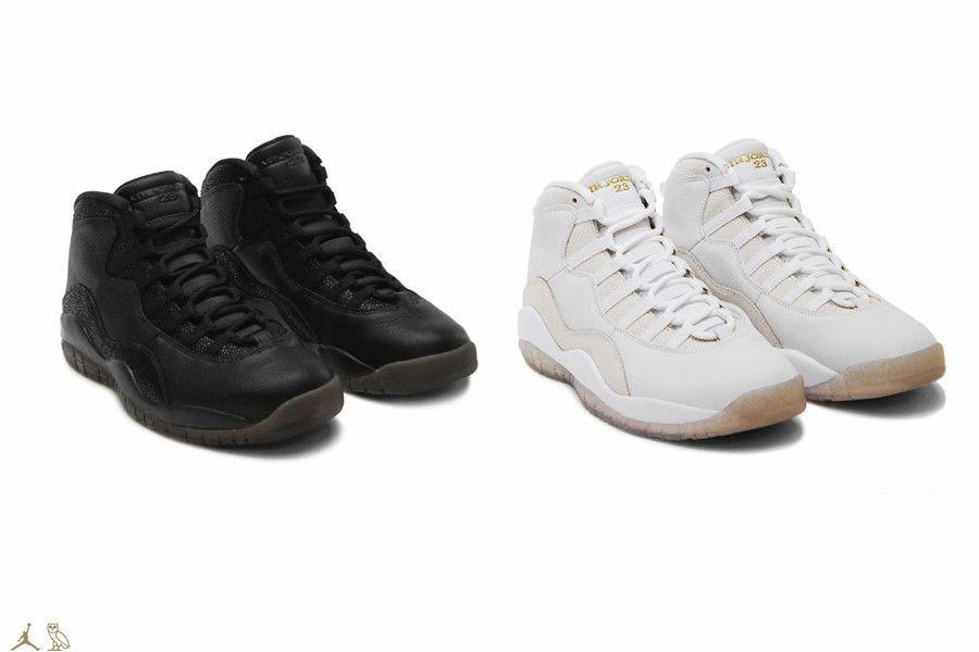 """Nike Air Jordan 10 Retro """"OVO Pack"""""""