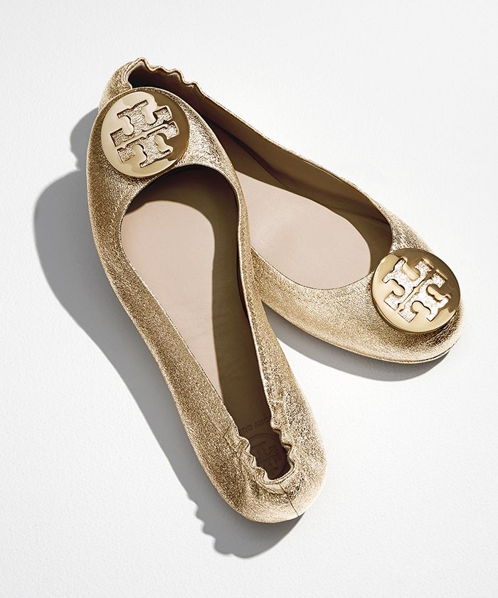 aa3e2b9455c5f7 Tory Burch Minnie Travel Ballet Flat
