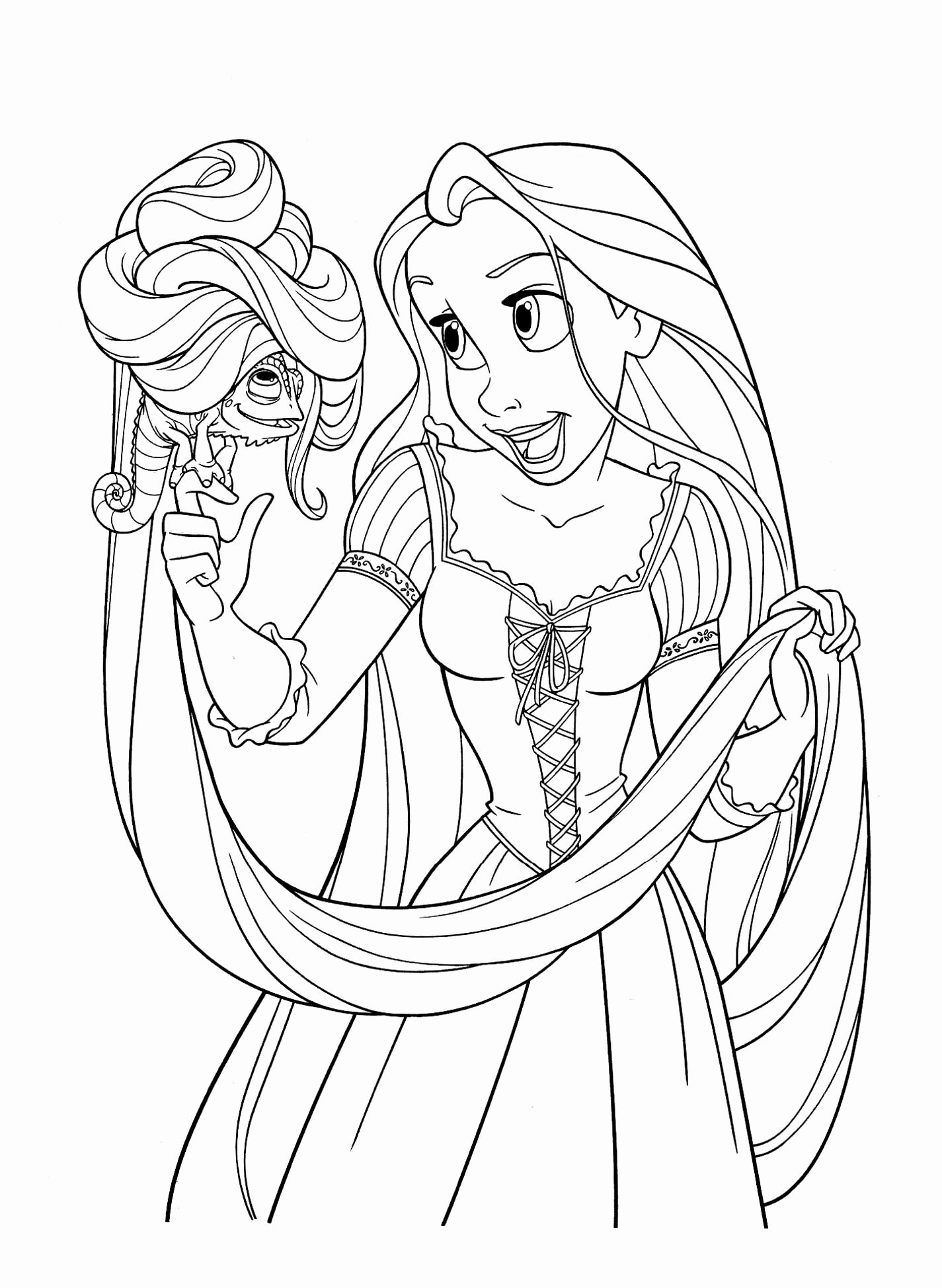 Disney Ripansl Coloring Pages For Kids In 2020 Tangled Coloring Pages Disney Coloring Sheets Princess Coloring Pages