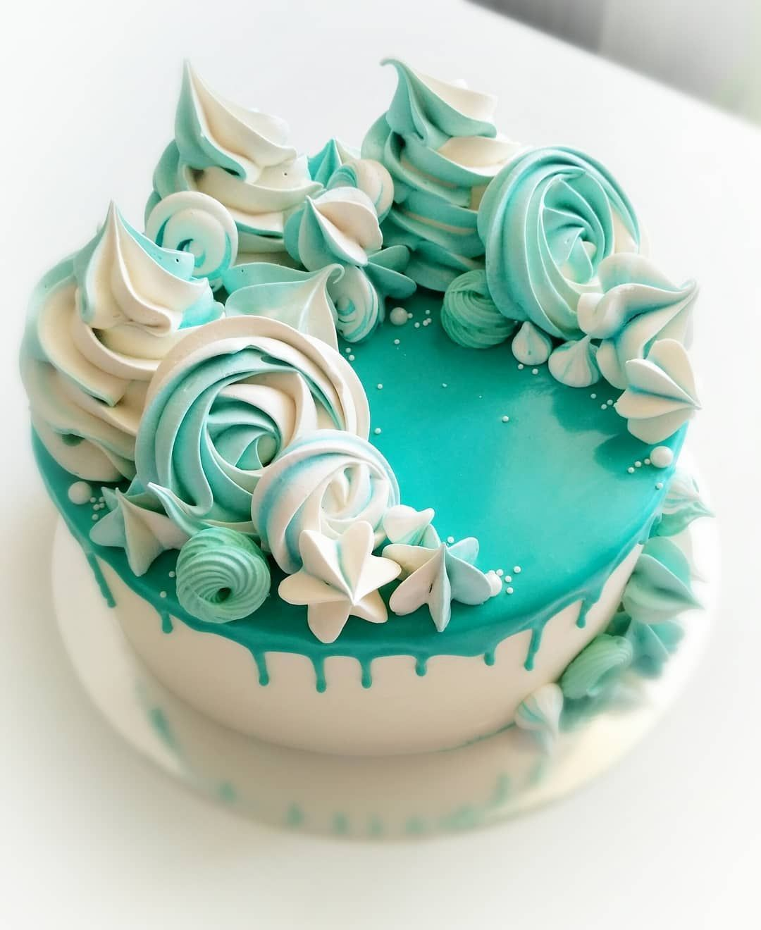 Simple Cake Decoration At Home