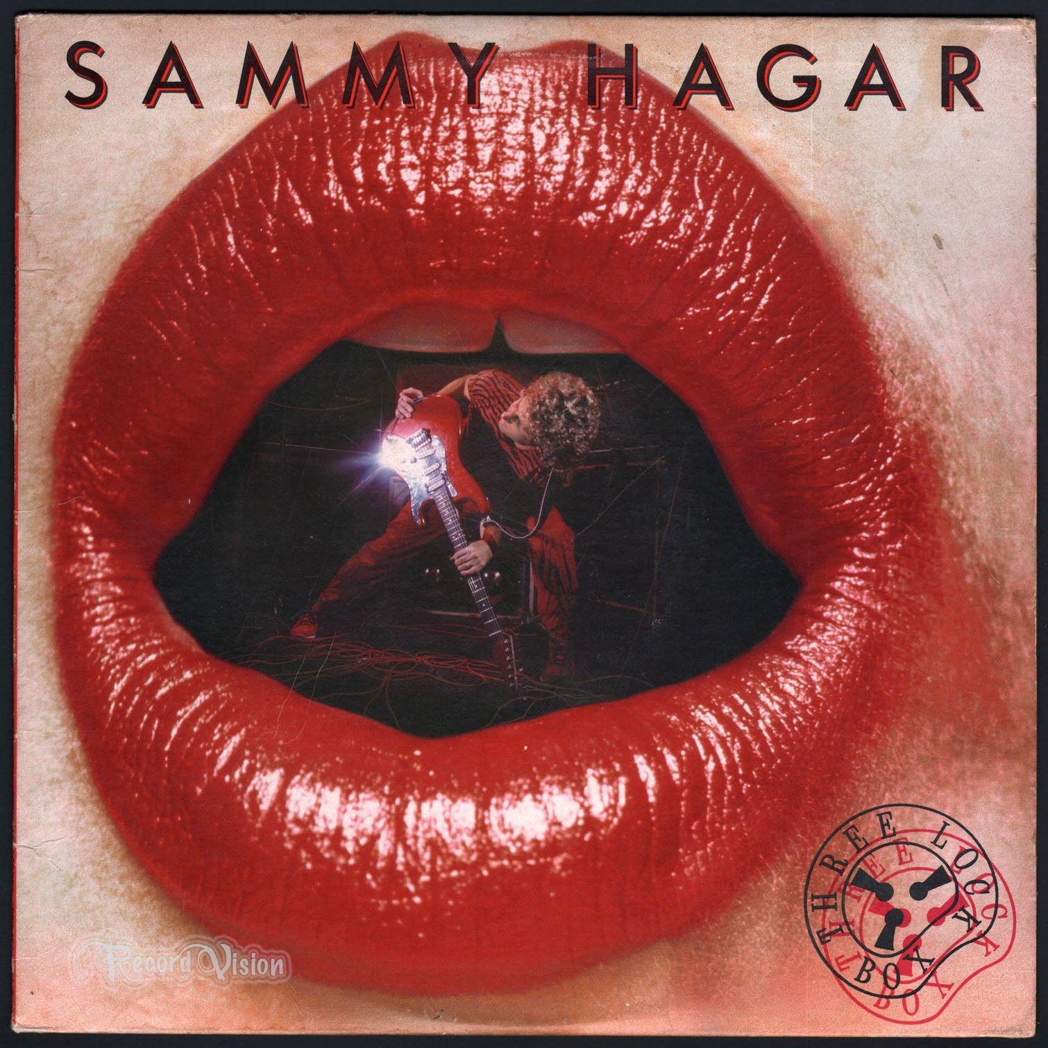 Sammy Hagar Three Lock Box 1982 Ex Ex Rock Album Covers Sammy Hagar Classic Rock Albums