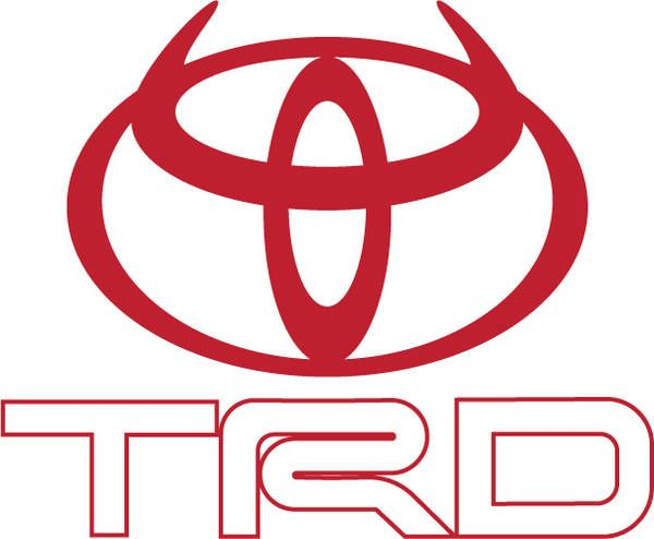 Toyota Use Of Horns Trd Devil Horns Logo Cars Trucks