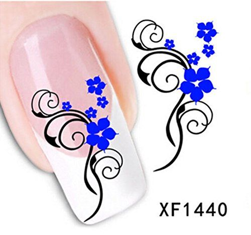 1 Sets Exceptional Popular Hots New Nails Art Sticker Template Tips - self review template