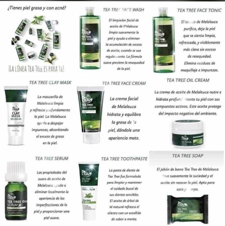 Tea Tree Tea Tree Oil Cream Oriflame Beauty Products Tea Tree